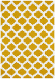 Nomad Pure Wool Flatweave 15 Gold Ivory Rug - DISCONTINUED