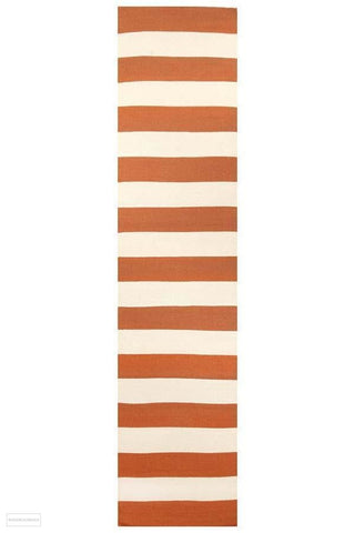 Nomad Pure Wool Flatweave 16 Orange Runner - DISCONTINUED
