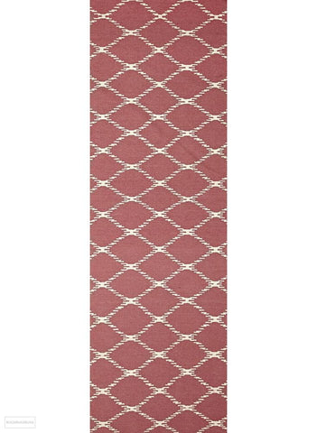 Nomad Pure Wool Flatweave 19 Pink Runner - DISCONTINUED