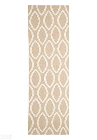 Nomad Pure Wool Flatweave 20 Beige Runner - DISCONTINUED