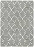 Nomad Pure Wool Flatweave 27 Grey Rug - DISCONTINUED