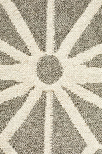 Nomad Pure Wool Flatweave 29 Grey Runner - DISCONTINUED