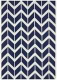 Nomad Pure Wool Flatweave 30 Navy Rug - DISCONTINUED