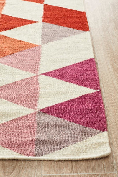Nomad Pure Wool Flatweave 35 Multi Rug - DISCONTINUED