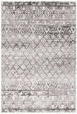 Oasis Zakira Dark Grey Tribal Rug - 230X160cm