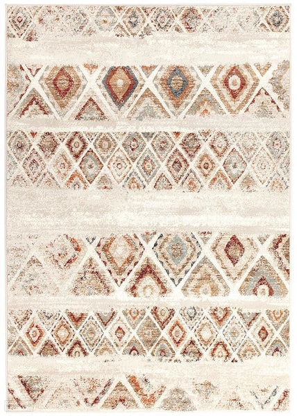 Oxford Mayfair Contrast Rust Rug - 230X160cm