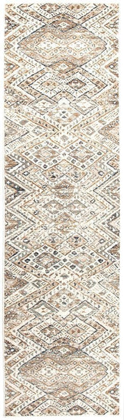 Oxford Mayfair Tribe Bone Rug - 300X80cm