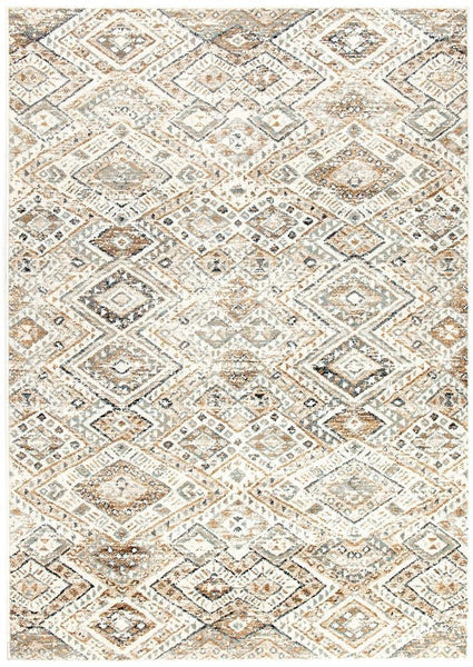 Oxford Mayfair Tribe Bone Rug - 230X160cm