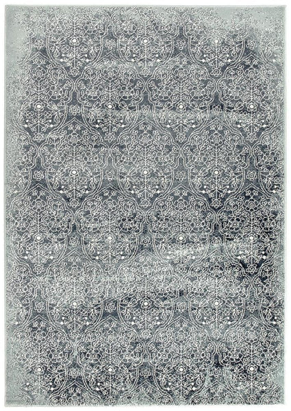 Oxford Mayfair Edge Denim Rug - 230X160cm