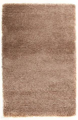 Pandora Collection Thick Soft Polar Latte Shag Rug - 170x120cm