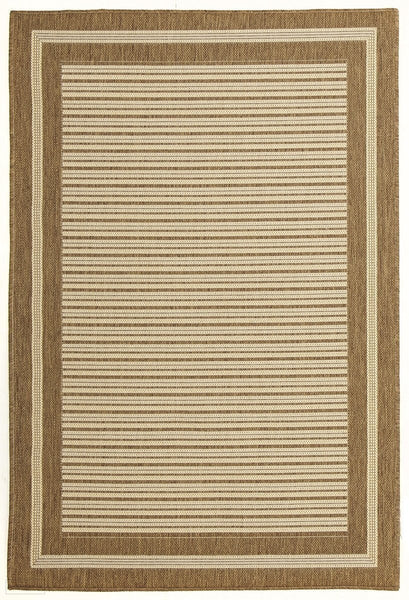 Pavilion Indoor Outdoor 388 Brown Rug