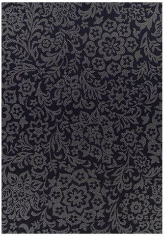 Pavilion Indoor Outdoor 504 Black Rug