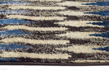 Ruby Collection 310 Navy Rug