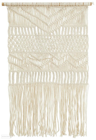 Rug Culture Home 420 Natural Wall Hanging - Wall Hangings