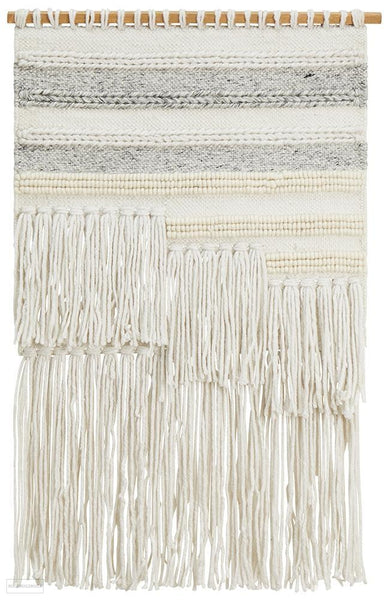 Rug Culture Home 427 Silver Wall Hanging - Wall Hangings