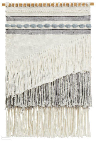 Rug Culture Home 430 Grey Wall Hanging - Wall Hangings