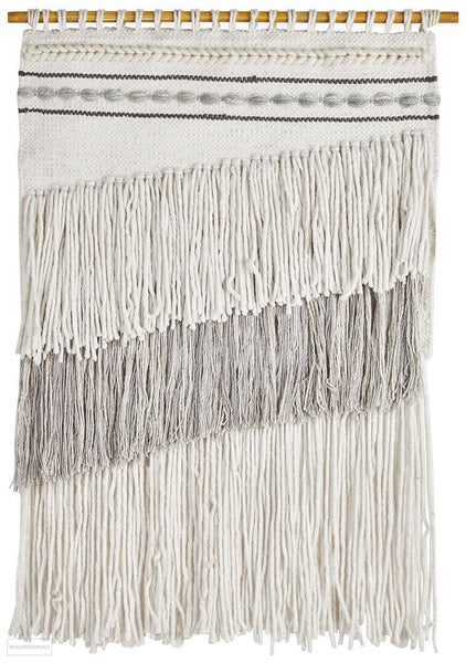 Rug Culture Home 431 Grey Wall Hanging - Wall Hangings
