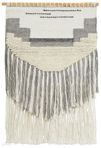 Rug Culture Home 433 Grey Wall Hanging - Wall Hangings