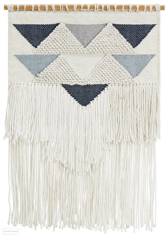 Rug Culture Home 434 Blue Wall Hanging - Wall Hangings