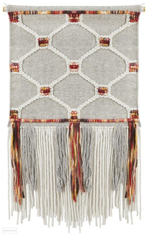 Rug Culture Home 438 Multi Wall Hanging - Wall Hangings