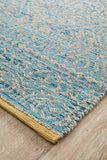 Relic Hunter Blue Grey Rug - MODERN