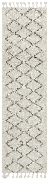 Saffron 11 Natural Runner Rug - MODERN