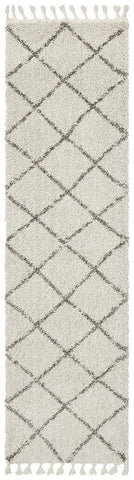 Saffron 22 Natural Runner Rug - MODERN
