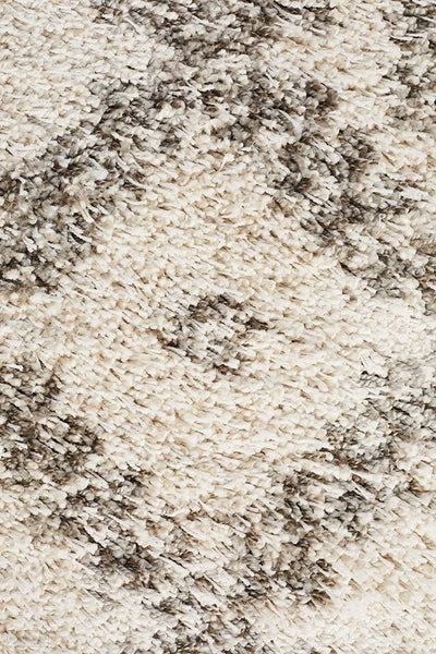 Saffron 33 Natural Runner Rug - MODERN