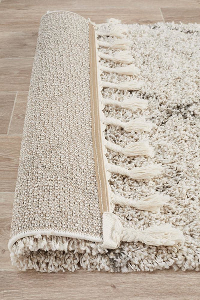 Saffron 44 Natural Runner Rug - MODERN