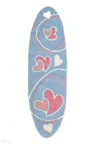 Smart Rugs Lovrhearts Blue - Cheapest Rugs Online - 1