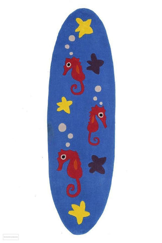 Smart Rugs Sea Horse Blue - Cheapest Rugs Online - 1