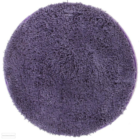 Soho Round Shag Rug Purple