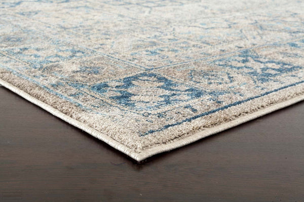 Sophia Breeze Fraction Bone Rug