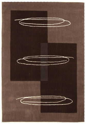 Gold Collection 100 Brown Rug