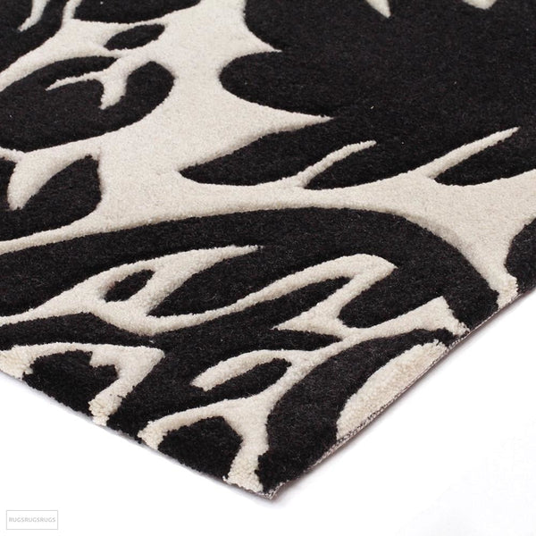 Gold Collection 108 Black Rug