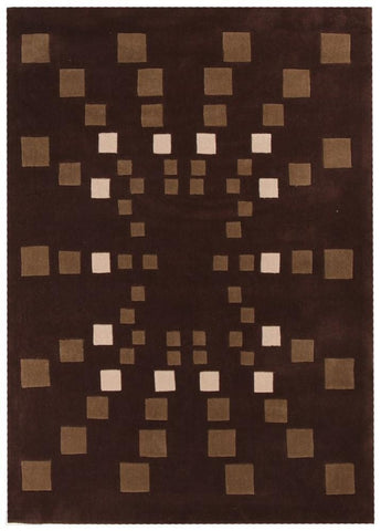 Gold Collection 110 Brown Rug