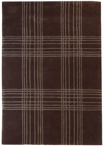 Gold Collection 114 Brown Rug