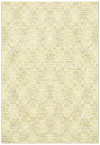 Terrace Clara Diamond Rug Lime Green - MODERN