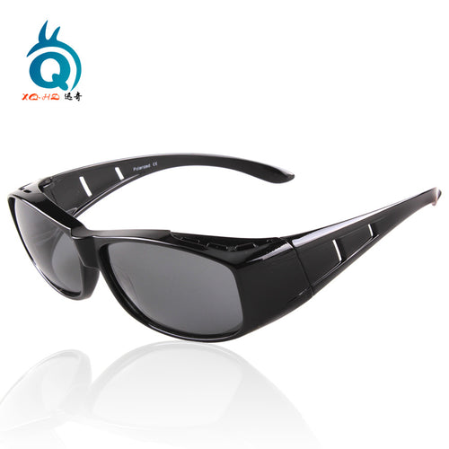 Hot sale style fit over sunglasses with polarized function