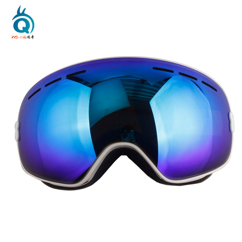 UV Proof Anti Fog Colorful Ski Goggles