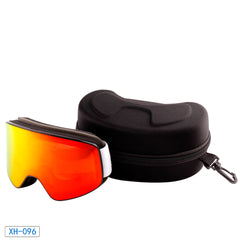 Anti Fog Double Layer Adult Interchangeable Ski Goggles for Sale