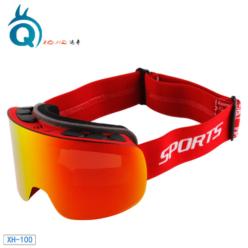 New style 2019 hot sale ski goggles with REVO coating lens