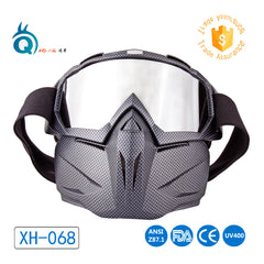 High quality motorcycle Goggles with mask