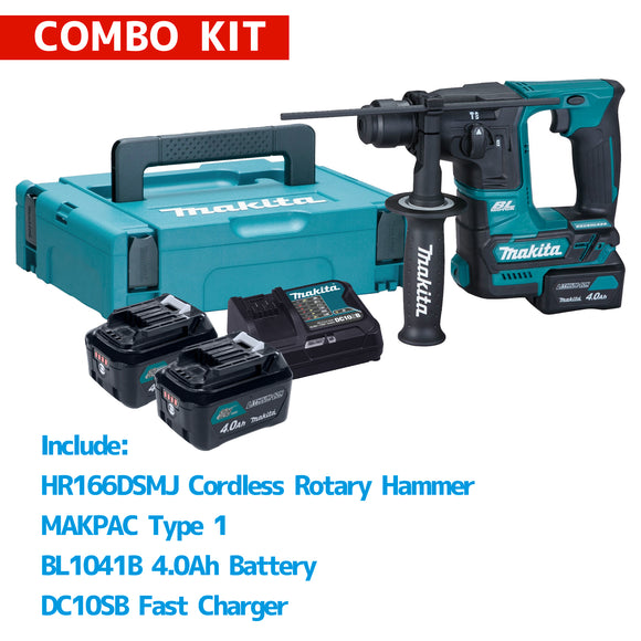 MAKITA HR166DSMJ Cordless Rotary Hammer Combo Kit