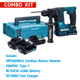 MAKITA HR166DWAJ Cordless Rotary Hammer Combo Kit