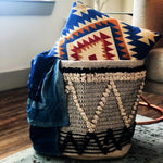 Handwoven Fabric Basket