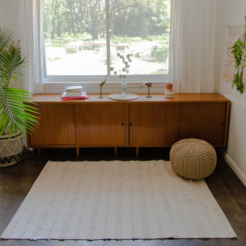 Victorine Cotton Area Rug