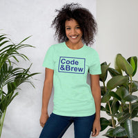 Code & Brew Short-Sleeve Unisex T-Shirt - code-and-brew - Code and Brew