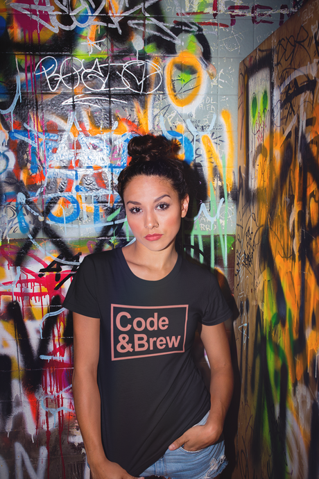 Code & Brew Short-Sleeve Unisex T-Shirt