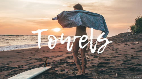 Sustainable, sand free beach towels